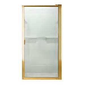 lowes shower door lowes shower doors with gold painted brass frame and using