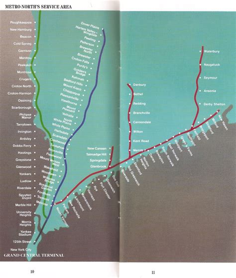 tuesday   metro north   system map  ride
