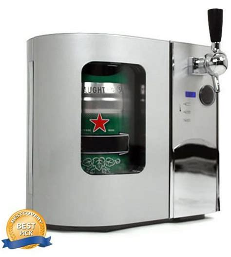 edgestar deluxe mini kegerator draft dispenser