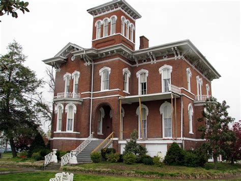 italianate style homes magnolia manor cairo illinois victorian houses on