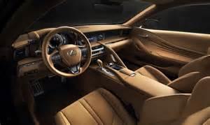 interior design of the new lexus lc 500 lexus