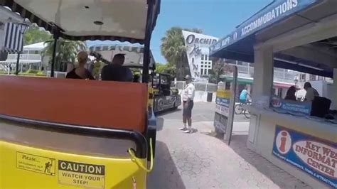 couch train conch tour train key west youtube