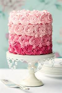 pinker kuchen pink pastel ombre cake best friends for frosting