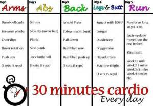30 day home workout plan 5 day workout plan fitness pinterest get in shape weights and summer