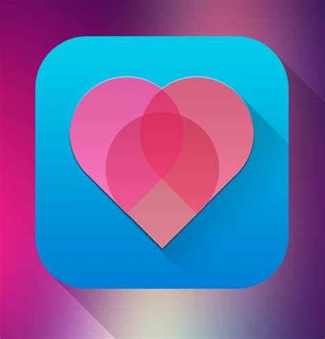 heart layout app 56 mobile app icons for ios icons graphic design junction