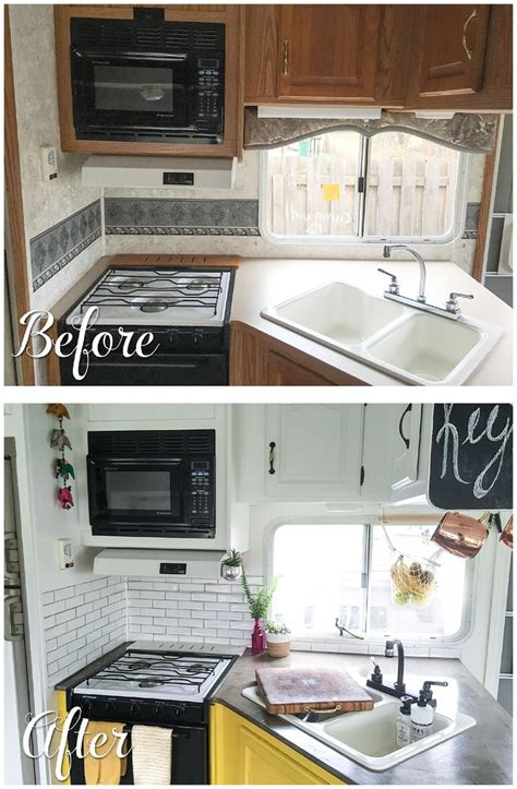 rv ideas renovations 25 best ideas about rv remodeling on pinterest trailer