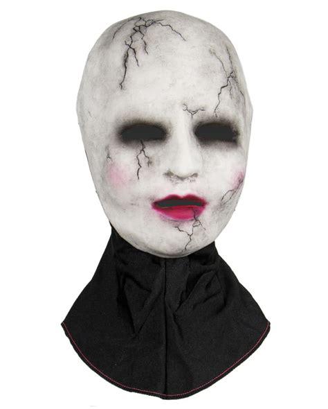 porcelain doll mask silicone half mask porcelain doll creepy doll horror mask