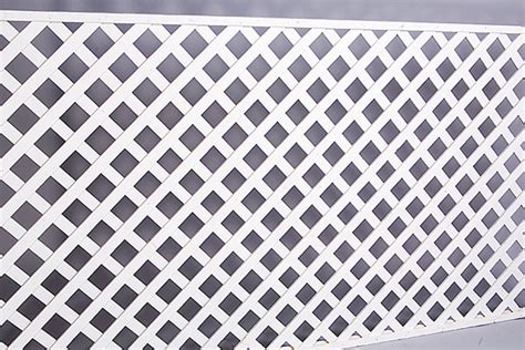 White Trellis Panels Lattice Panel Fencing White 4 X 8 A1