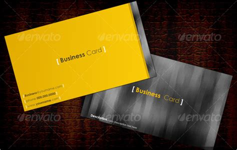 yellow business cards templates 44 yellow business card templates free psd vector designs