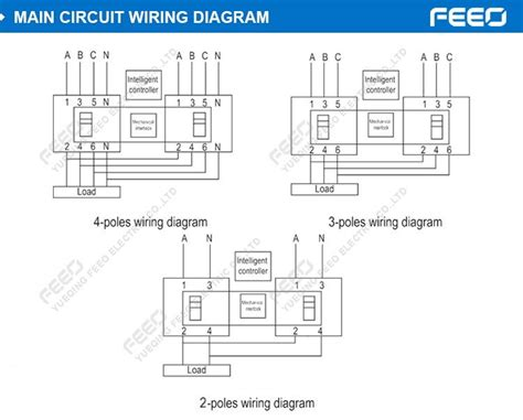 automatic changeover switch wiring diagram 42 wiring