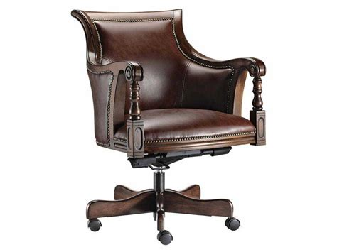 vintage leather desk chair cool office chairs leather chair wooden home cheap