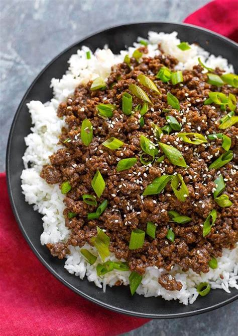 differnet ways to make ground beef instant pot korean ground beef bulgogi simply happy foodie