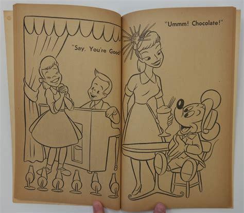 coloring book producer 1956 disneyland coloring book id aprdisneyland17355