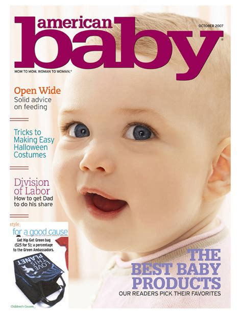 Home Design Magazine Covers by Get Hip Get Green Press American Baby