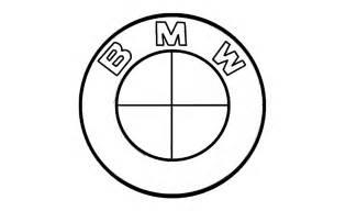 Logo Drawer by How To Draw The Bmw Logo Symbol Emblem