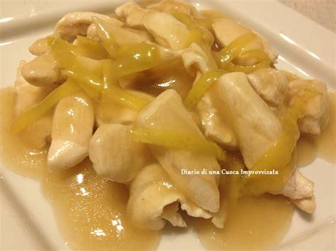 come cucinare i petti di pollo al limone pollo al limone