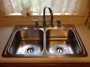How To Install A Kitchen Sink Faucet Stainless Kitchen Sink Installation Antwerp Ohio