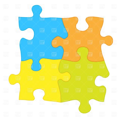 puzzle design elements vector jigsaw puzzle 764 design elements download royalty free