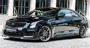 Tuned Cadillac Ats Geiger Cars Infuses Cadillac Ats V Coupe With More Attitude