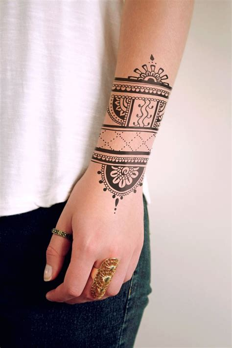 henna inspired temporary tattoo 29 best tatouage de samoa images on