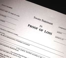 Proof Of Loss Letter Prove It Proofs Of Loss In An Insurance Contract Property Insurance Lawyer