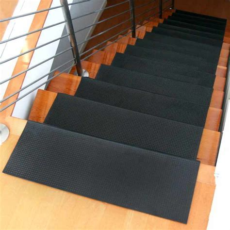 """Safety First"" Rubber Stair Mats"