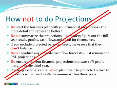 sle business plan financial projections making financial projections for a business plan
