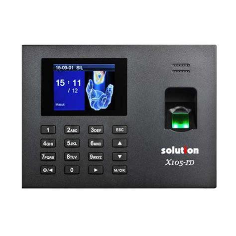 Solution L5000 Fingerprint Absensi Sidik Jari Access Door jual solution x105 id mesin absensi fingerprint dan access door harga kualitas