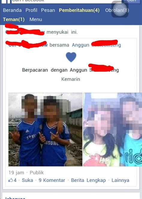 obrolan  status cinta cintaan anak sd  sosial media