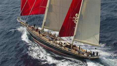 million price drop  sailing yacht hetairos  ocean