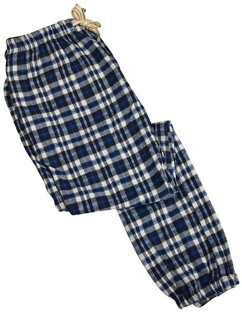 Poyid Panst Navy Sf bottoms out mens flannel plaid lounge pant navy blue mens sleepwear