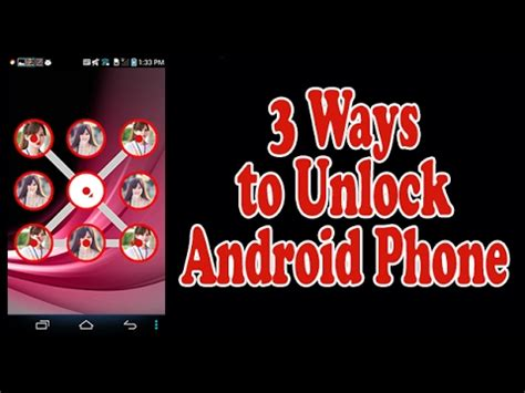 android pattern unlock youtube how to unlock any android phone pattern password pin