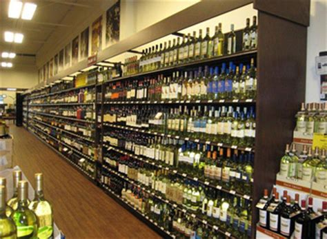 image gallery liquor store shelving