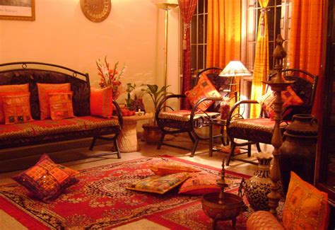 Indian Interior Home Design Ethnic Indian Decor