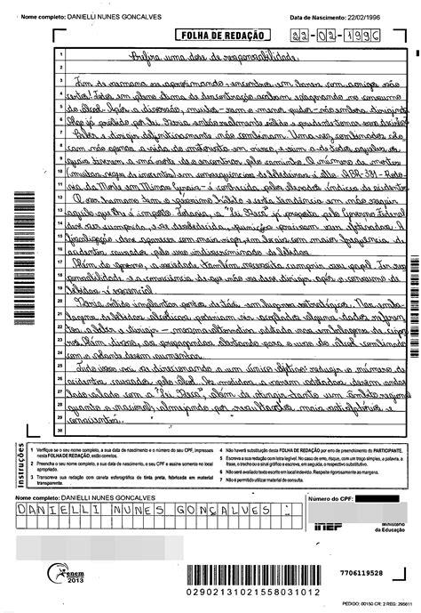 Confira exemplos de redações nota 1.000 do Enem 2013