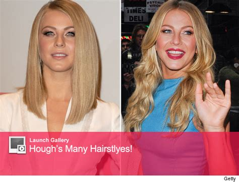 Julianne Lightens Up What Do You Think Of New Look by Julianne Hough S Drastic New Do Like The Look