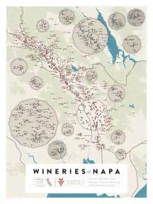 beautifully detailed maps of wineries in northern