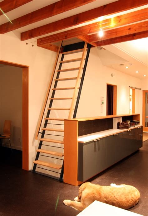 attic loft 96 best loft stairs for a tiny beach cabin images on