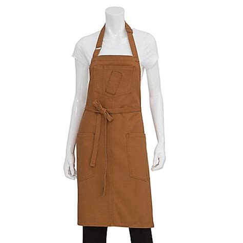 bed bath and beyond rockford chef works 174 rockford canvas bib apron bed bath beyond