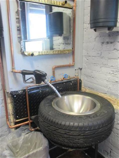 garage bathroom bathroom sink picture of duffy s garage grille
