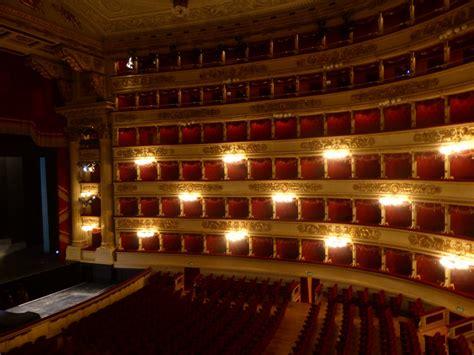 la scala opera house inside la scala opera house photo