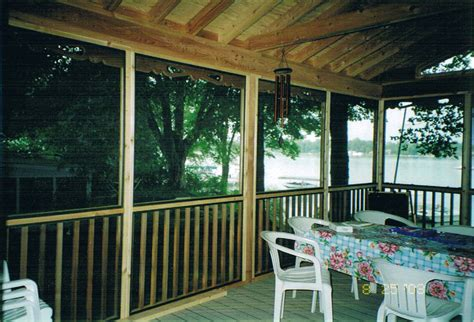 screen porch kits deck design ideas diy screen porch