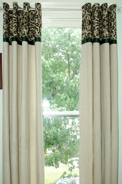 adding length to curtain panels diy curtains 5 amazing budget friendly tutorials