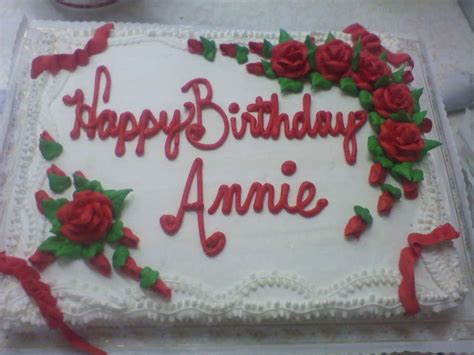 Home Decorating Forums happy birthday annie cakecentral com