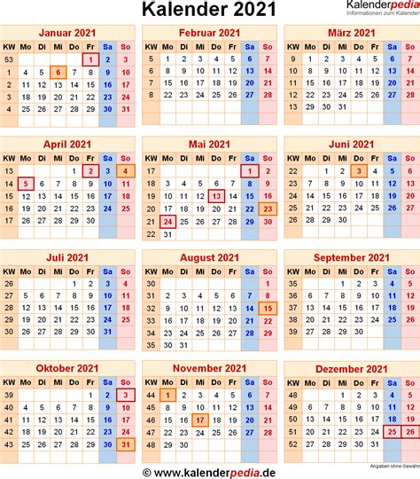 kalender  zum ausdrucken kalender