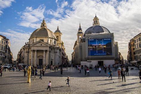 le cupole roma roma colori cambiati le cupole di piazza popolo non