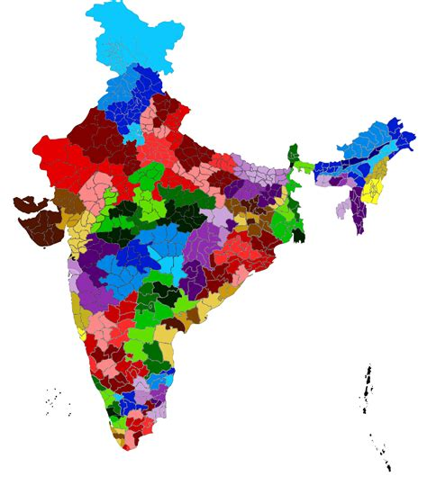 In India by Territories Of Catholic Dioceses In India