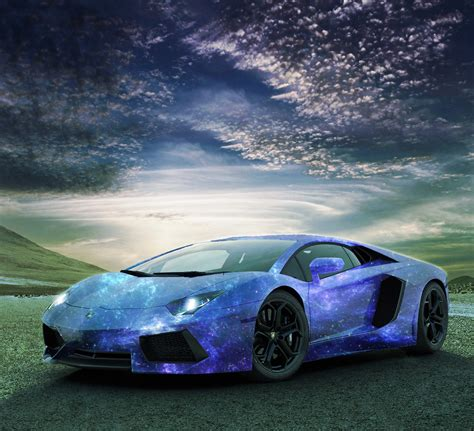 galaxy lamborghini aventador galaxy design i made madwhips