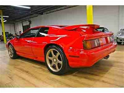 electric power steering 1995 lotus esprit security system service manual 1995 lotus esprit repair manual buy used 1995 lotus esprit s4s coupe 2 door 2