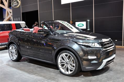 range rover convertible range rover evoque convertible concept geneva 2012 photo